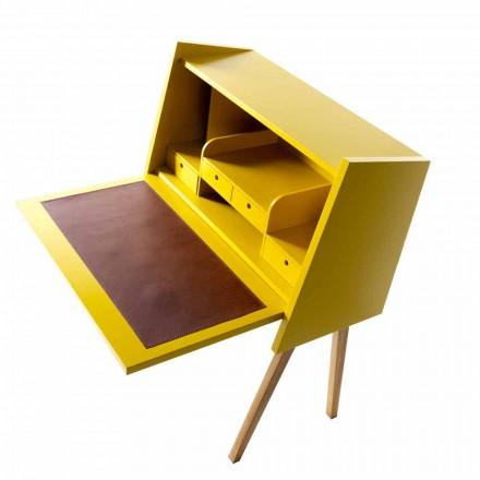 Design flerlags træskrivebord Grilli Hemingway lavede Italien
