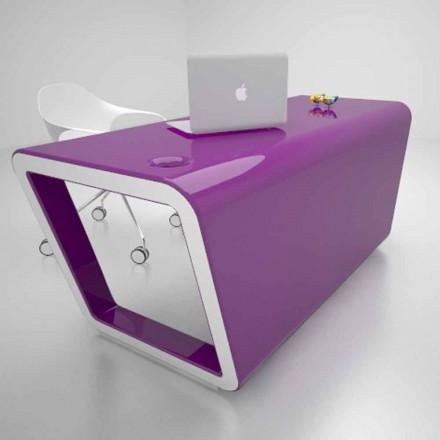 Design skrivebord i Solid Surface Ego Lavet i Italien