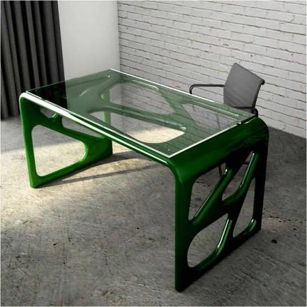 Design skrivebord i Solid Surface Illa Made in Italy