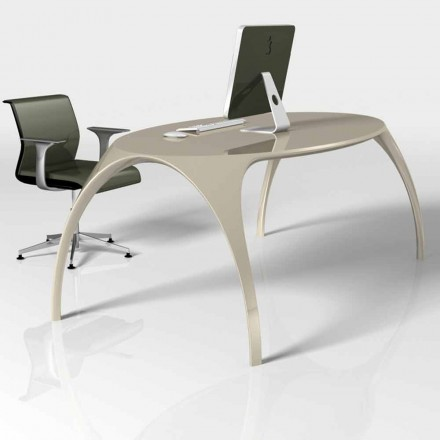 Moderne design skrivebord lavet i Italien, Pomposa