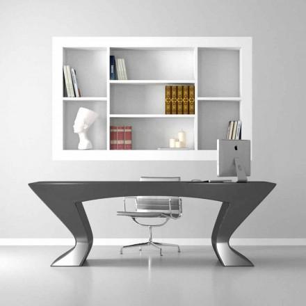 Moderne design skrivebord Nefertiti lavet i Italien