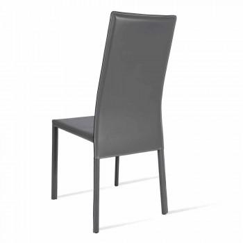 Becca moderne design high-back stol, lavet i Italien