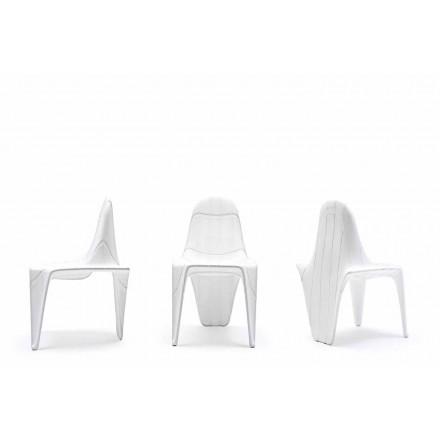 Moderne udendørs stol F3 fra Vondom, lavet med polyethylen