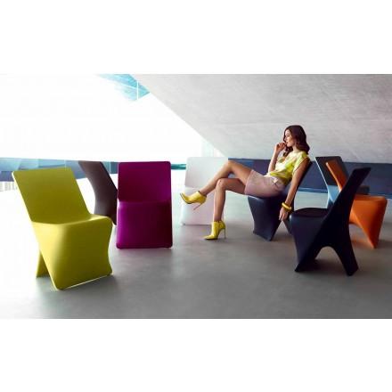 Have stol Sloo af Vondom, moderne design i polyethylen