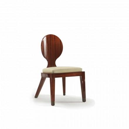 polstret design Spisebordsstol i træ glat, L51xP53cm, Nicole