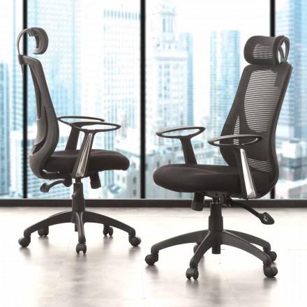 Vejledende og operationelt kontor sort stol - Gerlanda