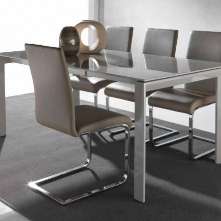 Spisestol med moderne design Sød med metalramme
