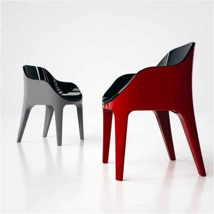 Design stol i Solid Surface Pointer Made in Italy