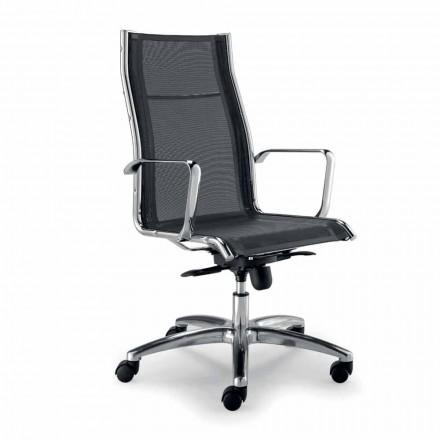 Design executive stol produceret i Italien i Agata netværk