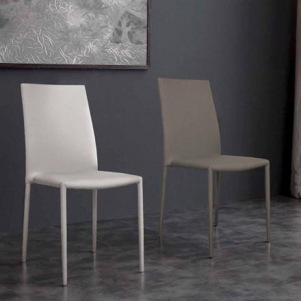 Desio moderne design øko-læder stol til køkken eller spisestue