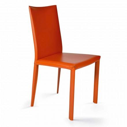 Moderne design spisestue stol, H88,5cm, Afrika, lavet i Italien