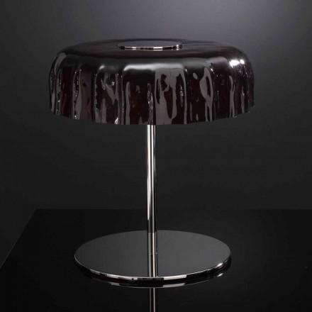 Selene Big Cap bordlampe glas Ø40 H 40cm lavet i Italien