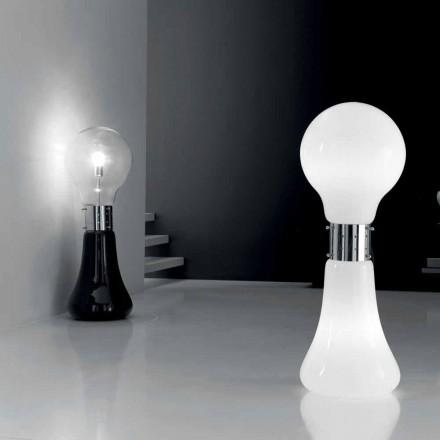 Selene Dina bordlampe med blæst glas oprindelige Murano