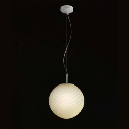 Selene Domino lysekrone blæst glas håndlavet O27 H 27 / 140cm