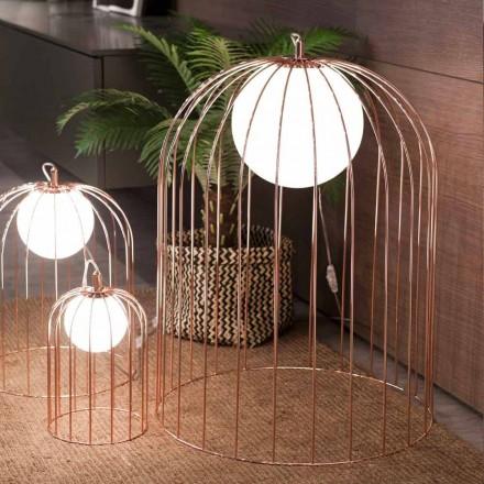 Selene Kluvì fra design bordlampe i blæst glas Ø54 H 70cm