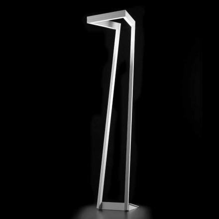 Selene My Way hvide LED gulvlampe H180cm 40x40, lavet i Italien