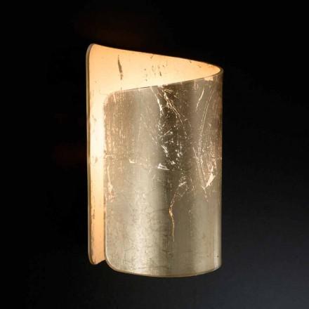 Selene Papiro applique krystal moderne design lavet i Italien