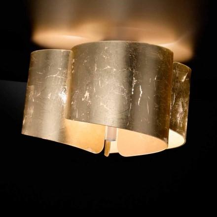 Selene Papiro loftslampe krystal lavet i Italien Ø46 H28cm