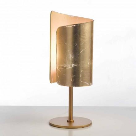 Selene Papiro designer bordlampe krystal Ø15 H38cm