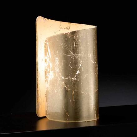 Selene Papiro bordlampe krystal lavet i Italien 15x14xH25cm
