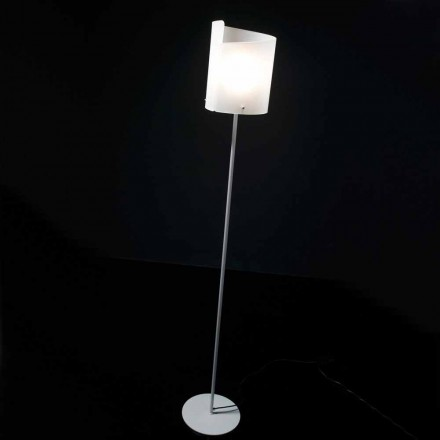 Selene Papiro designer gulvlampe H185cm krystal Ø26