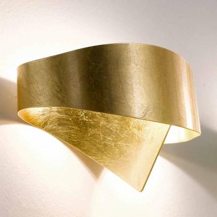 Selene moderne væglampe lavet i Italien Shield 29x15xH16 cm