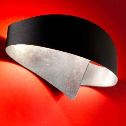 Selene væglampe Shield tofarvet moderne design 29x15xH16 cm