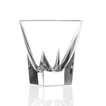 12 stk Økologisk farvede krystallikørglas service - Amalgam