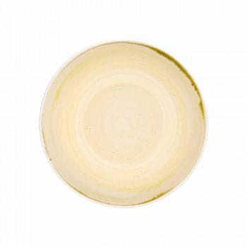 18 stykke porcelænsfarvet og moderne aftensmadstjeneste - Rurolo