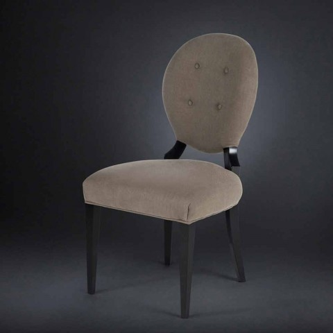 2. september polstrede stole med ryglæn arbejdede BOUTONNE Sophia