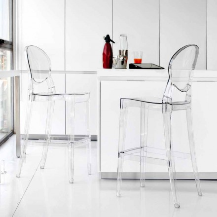 Stool Contemporary elegant transparent polykarbonat Bosa