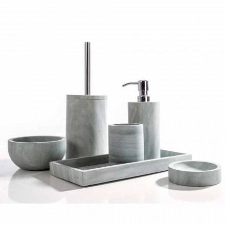 Montale grå sten badeværelse tilbehør sæt