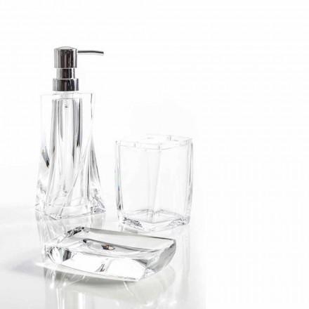 Torraca sæt dispenser + tumbler + sæbe skål til badeværelse design