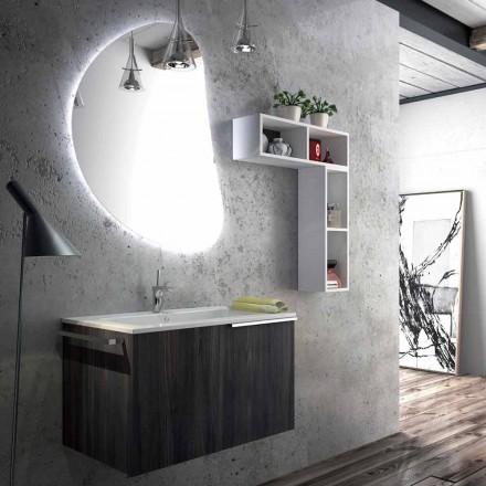 Hængende badeværelse møbler sammensætning lavet i Italien, Sad