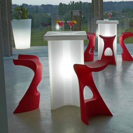 Udendørs højstole til udendørs / indendørs Slide Koncord, lavet i Italien