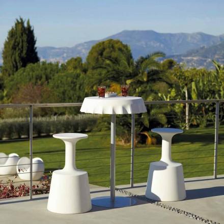 Høj barstol til udendørs Moderne Slide Drikke lavet i Italien