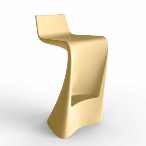 Wing Vondom moderne design barstol i polyethylen