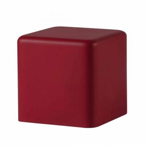 Blød polyurethan kubstole Slide Soft Cube design lavet i Italien