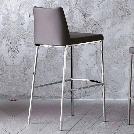 Ecoleather Design skammel til køkken eller spisestue H 80 cm - Celine