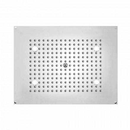 Shower Bossini rektangulært med en jet og LED lys