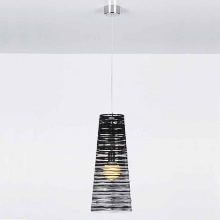 gennemsigtig Suspension design, farverige udsmykning, Shana diam. 25 cm