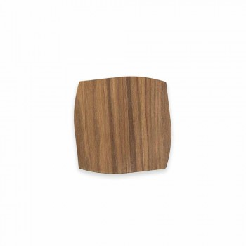 Moderne kvadratisk trækiste lavet i Italien - Abraham