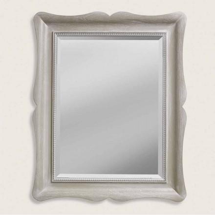 Moderne design ayous trævæg spejl lavet i Italien Angelo