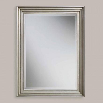 Håndlavet guld, sølv væg spejl lavet i Italien Stefania