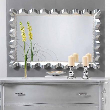 Spejl af moderne design væg dekoreret med perler Lane