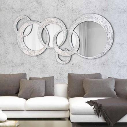 Design væg spejl Cirkler af Viadurini Decor