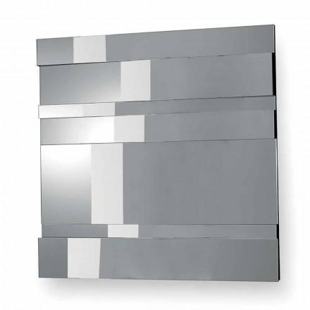 Vægspejl i moderne design i glas og metal fremstillet i Italien - Pallino