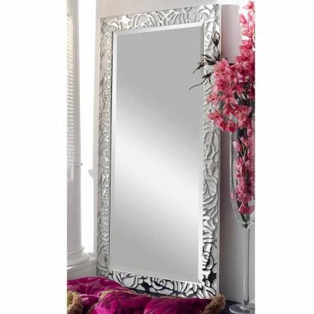 Moderne design trævæg spejl lavet i Italien Augustus