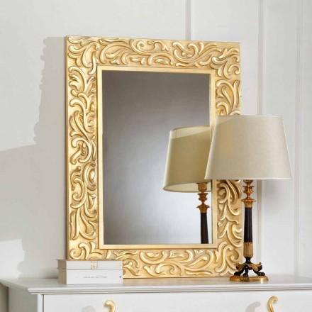 Spejl som Pepa 75x100 cm Designer gulv, lavet i Italien
