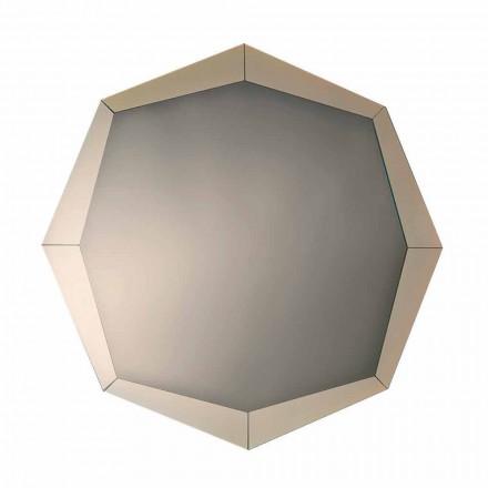 Design spejl i spejlet krystal finish Made in Italy - Bolina